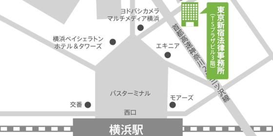 神奈川・横浜支店地図