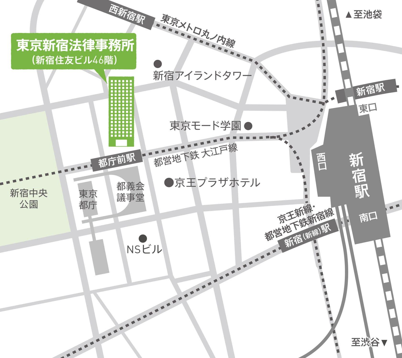 地図:本店